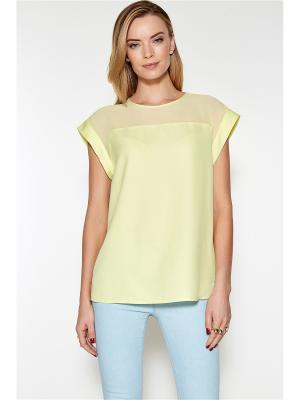 Блузка Concept Club. Цвет: светло-зеленый