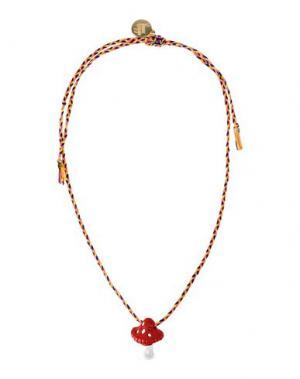 Ожерелье VENESSA ARIZAGA. Цвет: оранжевый