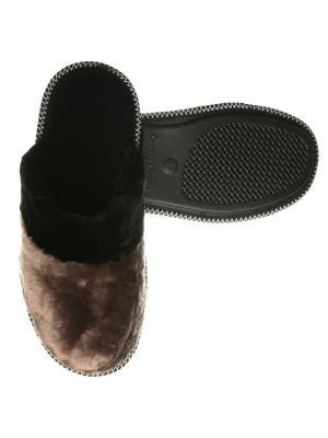 Тапочки мужские Prestige Collection. Цвет: черный,коричневый