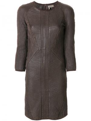 Платье Uria Tony Cohen. Цвет: none