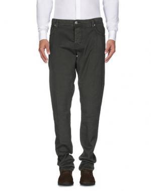 Повседневные брюки TRAMAROSSA. Цвет: зеленый-милитари