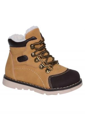 Ботинки KENKA. Цвет: оранжевый