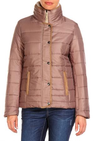 Куртка E|SENZ. Цвет: коричневый