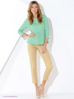 Блузка AVELON. Цвет: зеленый