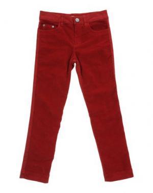 Повседневные брюки MIMISOL. Цвет: красный