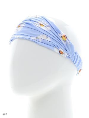 Повязка на голову Maxval. Цвет: голубой
