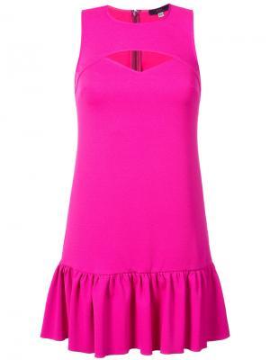 Платье Shea Trina Turk. Цвет: розовый и фиолетовый