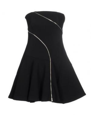 Короткое платье JAY AHR. Цвет: черный