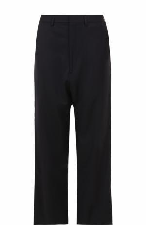 Широкие брюки прямого кроя Vetements. Цвет: синий