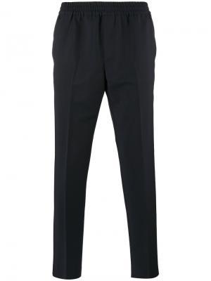 Спортивные брюки с эластичным поясом Harmony Paris. Цвет: коричневый
