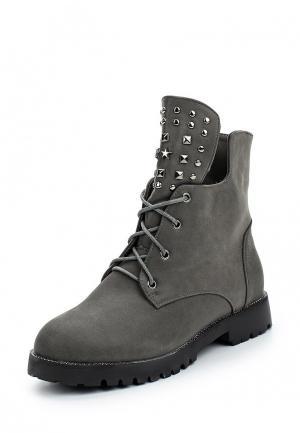 Ботинки Vivian Royal. Цвет: серый