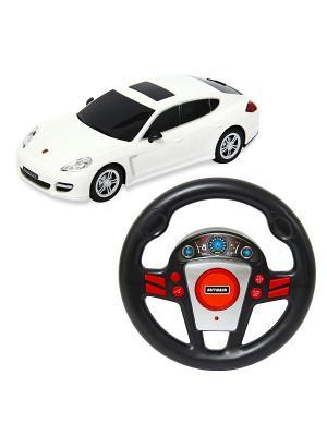 Машина р/у Porsche Panamera Turbo S 1:24 HOFFMANN. Цвет: белый