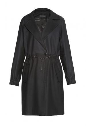 Alessandro Dellacqua Пальто из шерсти 174063 Dell'acqua. Цвет: черный