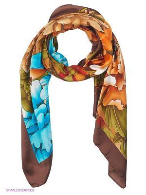 Платок Sabellino. Цвет: коричневый, бронзовый