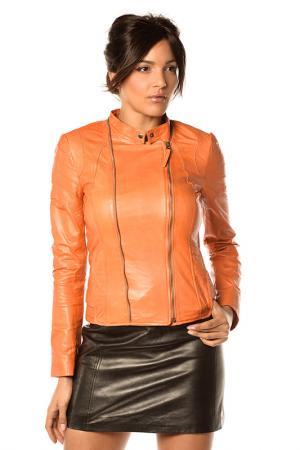 Куртка Pellessimo. Цвет: оранжевый