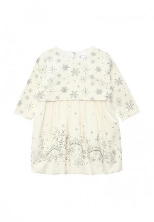 Платье Мамуляндия. Цвет: белый