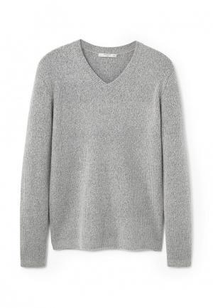 Пуловер Mango Man. Цвет: серый