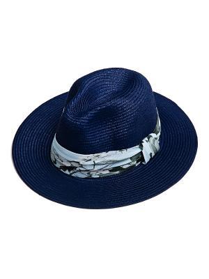 Шляпа Kameo-bis. Цвет: синий, голубой, зеленый