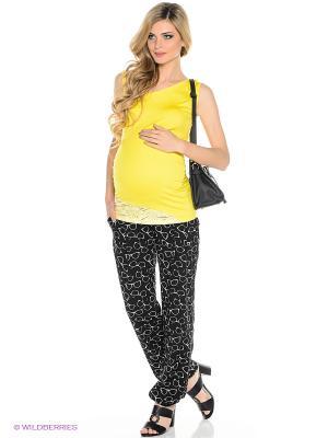 Брюки для беременных ФЭСТ. Цвет: черный, белый