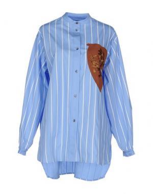 Pубашка JONATHAN SAUNDERS. Цвет: небесно-голубой
