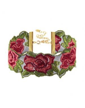 Ожерелье TAOLEI. Цвет: красный