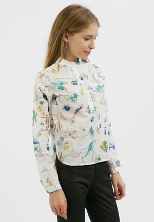 Рубашка Monoroom. Цвет: белый