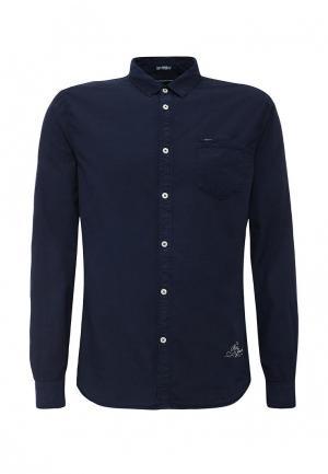 Рубашка Pepe Jeans. Цвет: синий