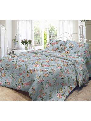 Комплект постельного белья, Куршавель Волшебная ночь. Цвет: серый меланж