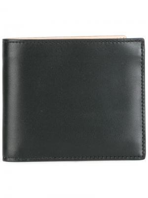 Классический бумажник Maison Margiela. Цвет: чёрный