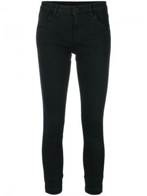 Укороченные брюки Ines Pence. Цвет: чёрный