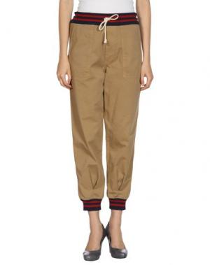 Повседневные брюки BOY by BAND OF OUTSIDERS. Цвет: хаки