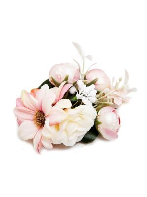 Зажим Kameo-bis. Цвет: розовый, зеленый, кремовый