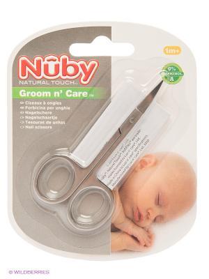 Ножницы NUBY. Цвет: серый