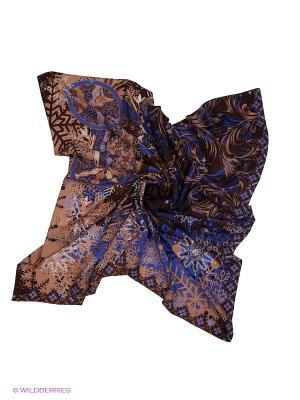 Платок Eleganzza. Цвет: коричневый, сиреневый, бежевый