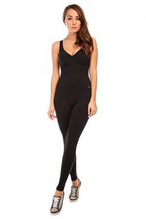 Комбинезон для фитнеса женский  New Zealand Overall Black CajuBrasil. Цвет: черный