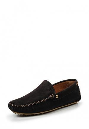 Мокасины Trussardi Jeans. Цвет: коричневый