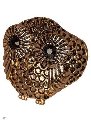 Кольцо AVGAD. Цвет: бронзовый