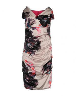 Платье до колена IVAN MONTESI. Цвет: светло-розовый