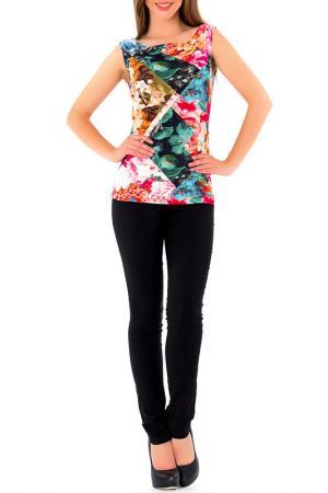 Блуза S&A style. Цвет: сине-розовый
