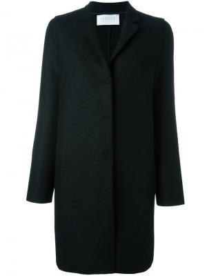 Пальто на кнопках Harris Wharf London. Цвет: чёрный