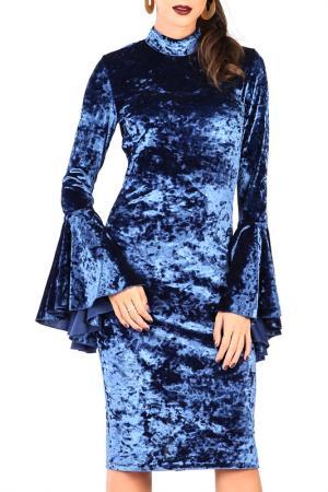 Платье CARLA BY ROZARANCIO. Цвет: синий