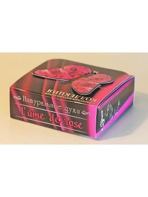 Духи твердые натуральные.Розовый соул.14 гр Крымская Натуральная Коллекция. Цвет: белый