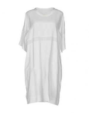 Короткое платье LIBERTINE-LIBERTINE. Цвет: белый