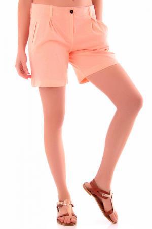 Шорты Cristina Gavioli. Цвет: розовый
