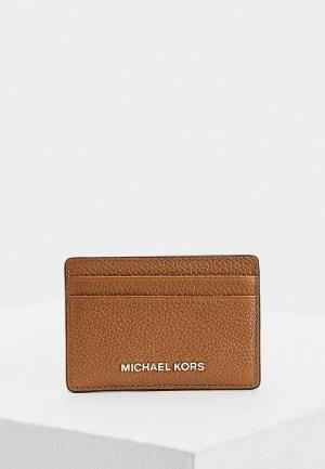 Визитница Michael Kors. Цвет: коричневый