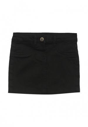 Юбка джинсовая LC Waikiki. Цвет: черный