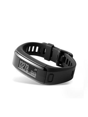 Фитнес-браслет Vivosmart HR черный со встроенным пульсометром GARMIN. Цвет: черный