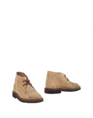 Полусапоги и высокие ботинки ALVIERO MARTINI 1a CLASSE. Цвет: песочный