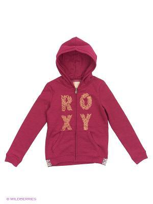 Толстовка ROXY. Цвет: розовый