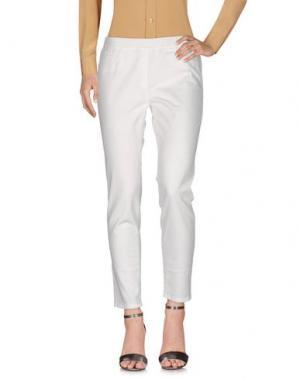 Повседневные брюки BLUE LES COPAINS. Цвет: белый